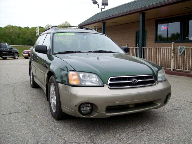 2002 Subaru Legacy Wagon 5dr Outback Man. w/All Weather Pkg
