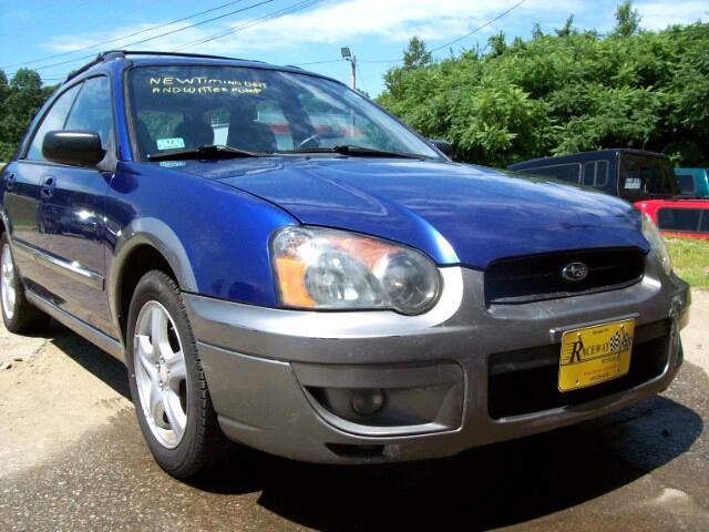 2004 Subaru Impreza Wagon (Natl) 2.5 Outback Sport Auto