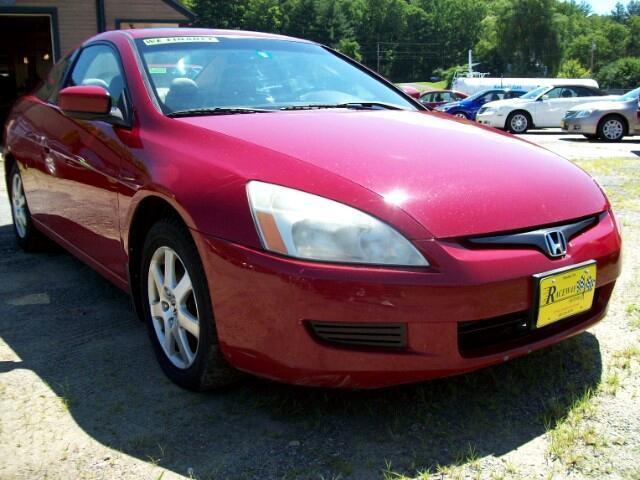 2005 Honda Accord Cpe EX-L V6 AT
