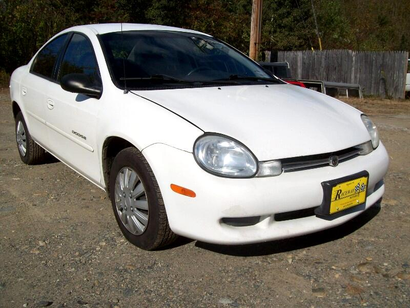 2001 Dodge Neon 4dr Sdn Highline