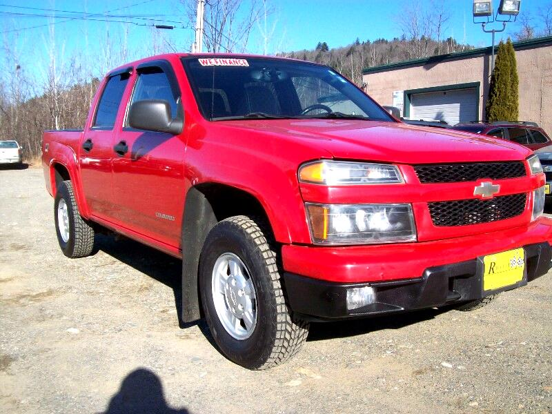"""2004 Chevrolet Colorado Crew Cab 126.0"""" WB 4WD 1SB LS Z85"""