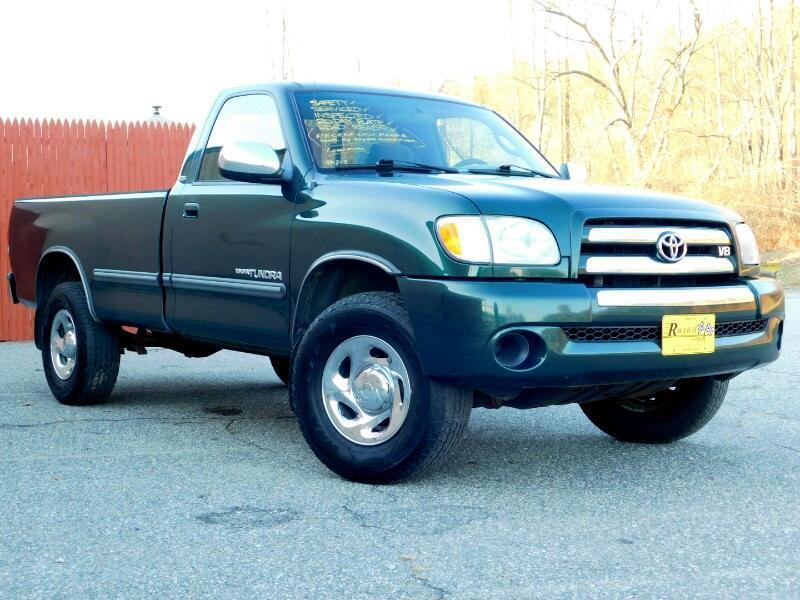 """Toyota Tundra 4WD Reg 126.8"""" 4.7L V8 (Natl) 2003"""