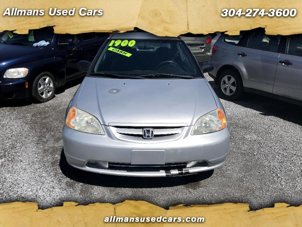 2002 Honda Civic LX coupe