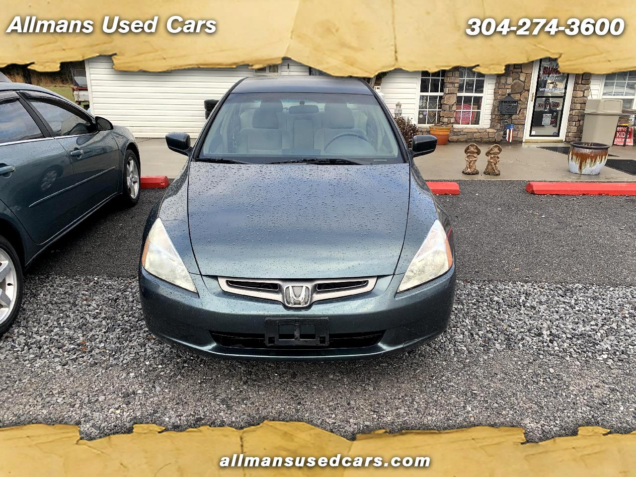2004 Honda Accord LX Sedan with Front Side Airbags