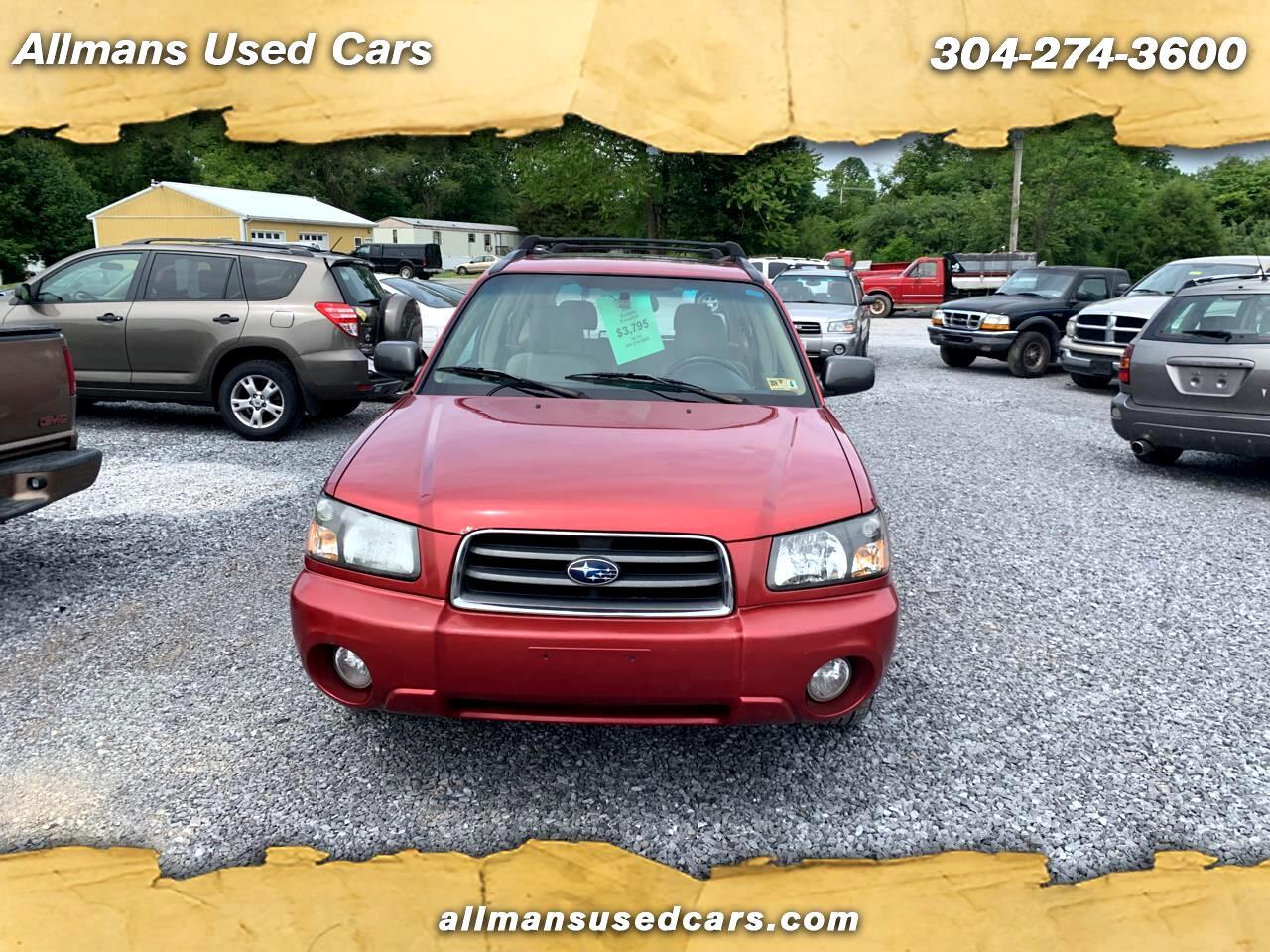 2003 Subaru Forester 2.5 XS
