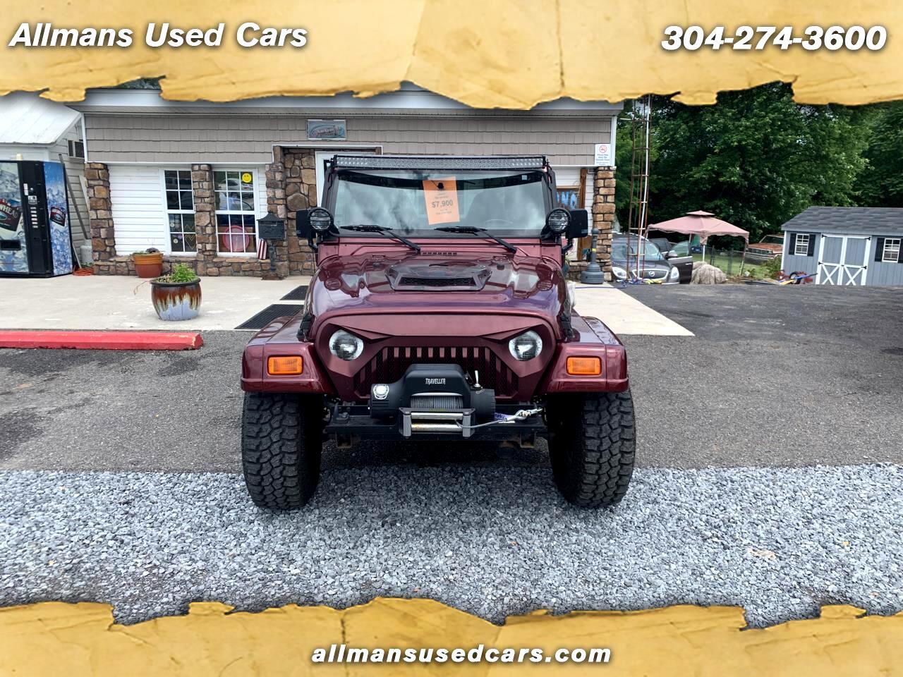 Jeep Wrangler Sahara 2001
