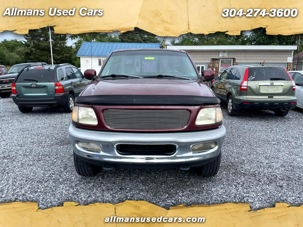 Ford F-150 Lariat Reg. Cab Long Bed 4WD 1998