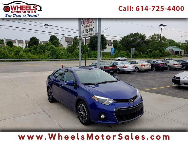 2015 Toyota Corolla S Plus 6MT