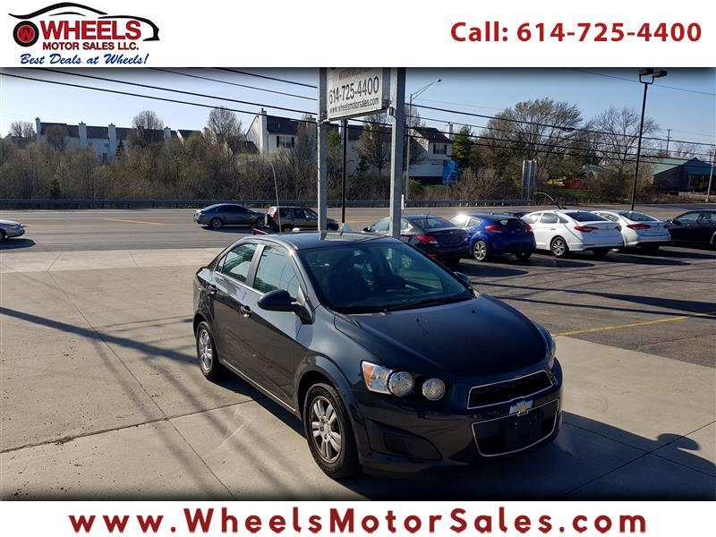 Chevrolet Sonic LT Auto Sedan 2015