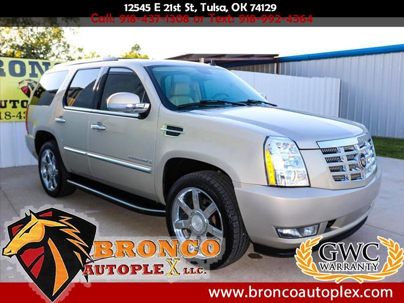 Used 2007 Cadillac Escalade For Sale In Tulsa Ok 74129 Bronco Autoplex