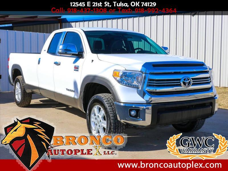 2015 Toyota Tundra SR5 5.7L V8 Double Cab 2WD Long Bed