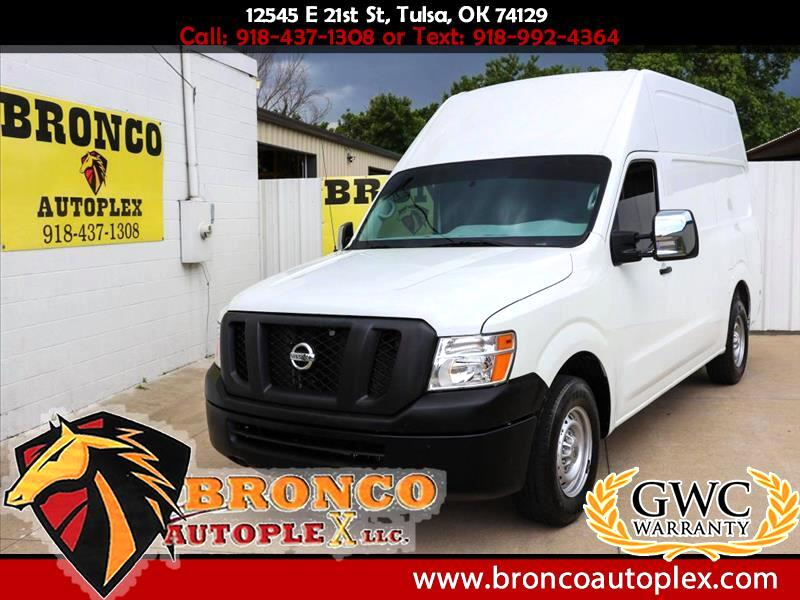2016 Nissan NV Cargo 2500 HD S V8 High Roof