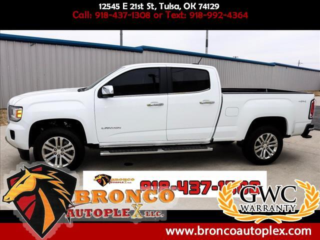 2015 GMC Canyon SLT Crew Cab 4WD Long Box