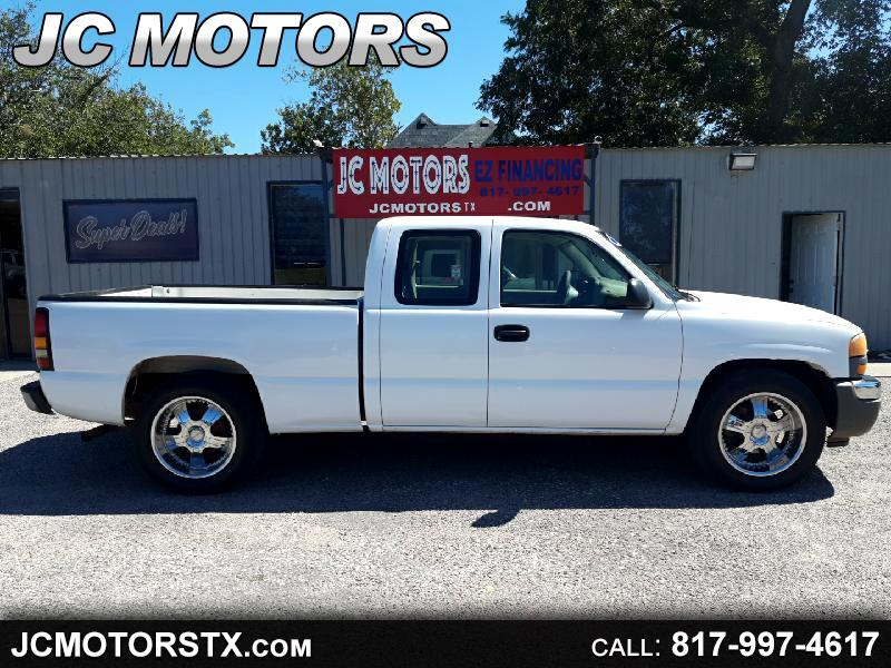 GMC Sierra 1500 Ext. Cab Short Bed 2WD 2005