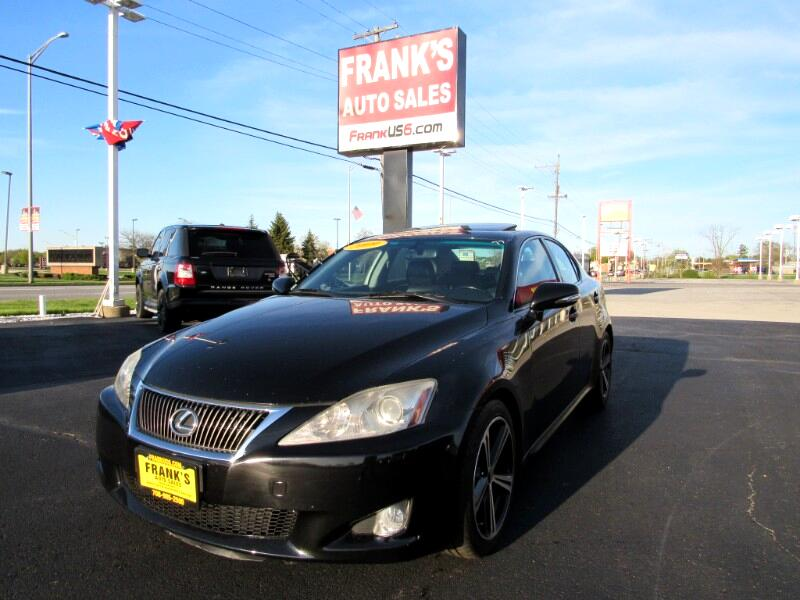 Lexus IS IS 250 6-Speed Sequential 2009
