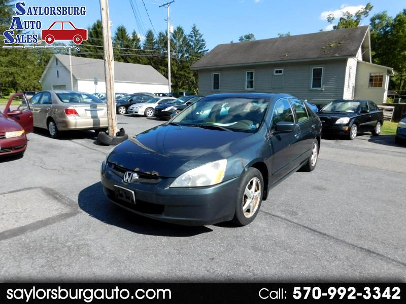 2004 Honda Accord EX-L Sedan AT with XM Radio