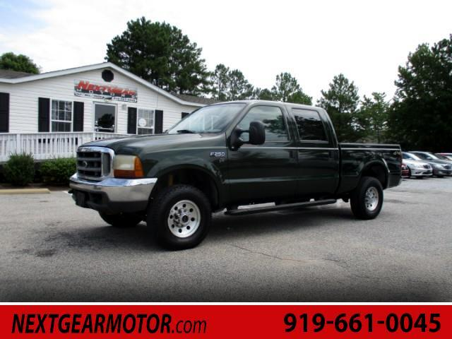 2000 Ford F-250 SD XLT Crew Cab Short Bed 4WD
