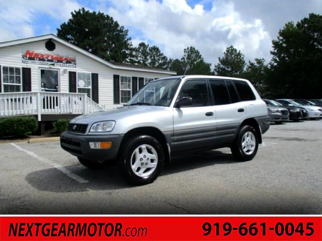 1998 Toyota RAV4 4-Door All Wheel Drive