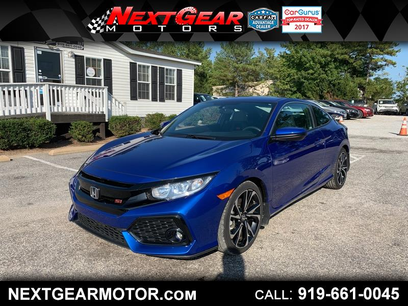 2018 Honda Civic Si Coupe 6-Speed MT