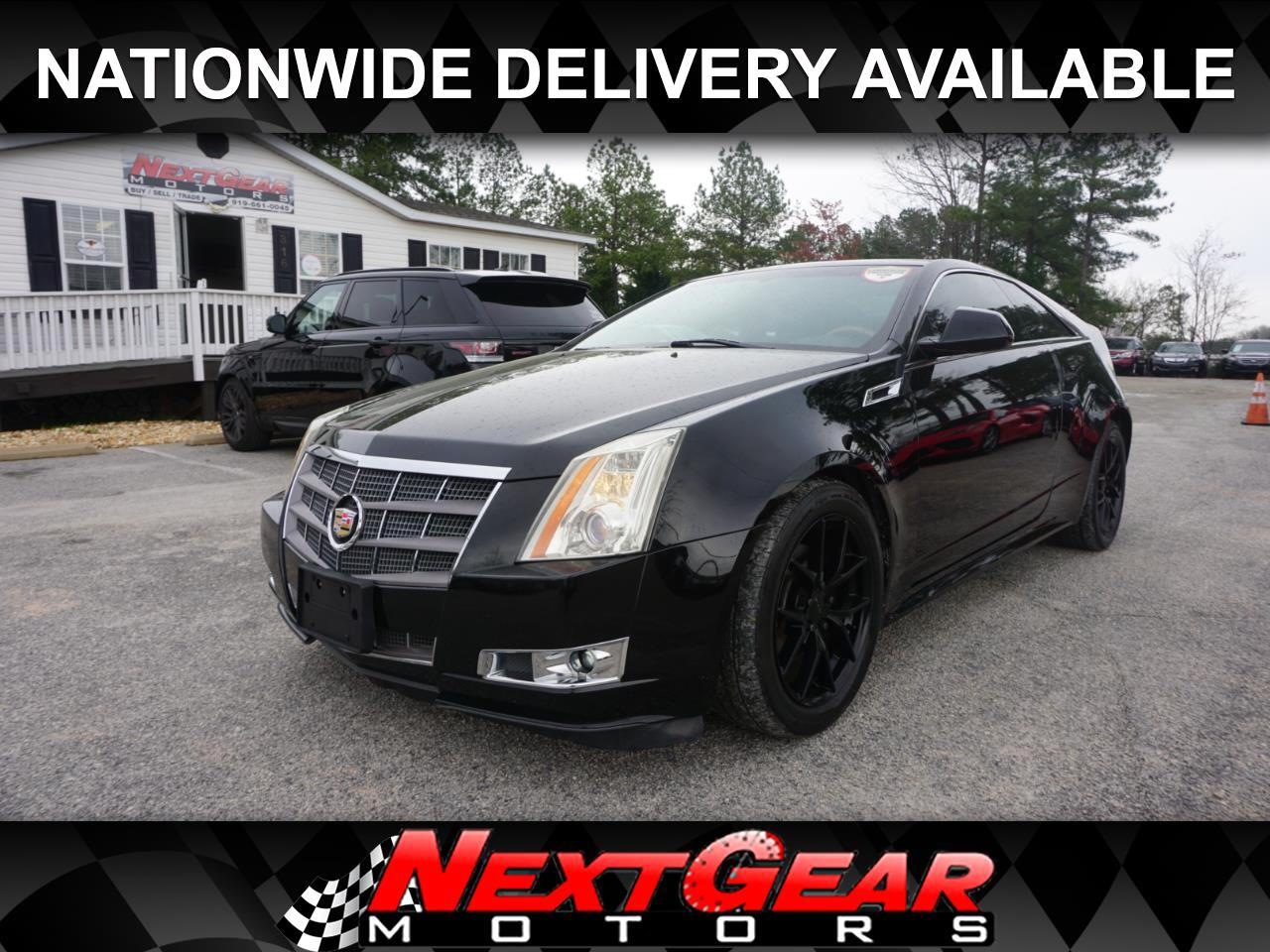 Cadillac CTS Premium AWD Coupe with Navigation 2011