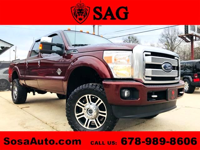 2015 Ford F-250 SD Platinum Crew Cab Bed 4WD