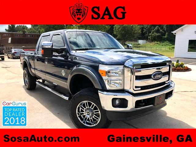 2013 Ford F-250 SD Lariat Crew Cab Long Bed 4WD