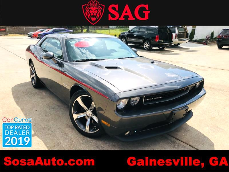 2014 Dodge Challenger R/T ANNIVERSARY APPEREANCE GROUP