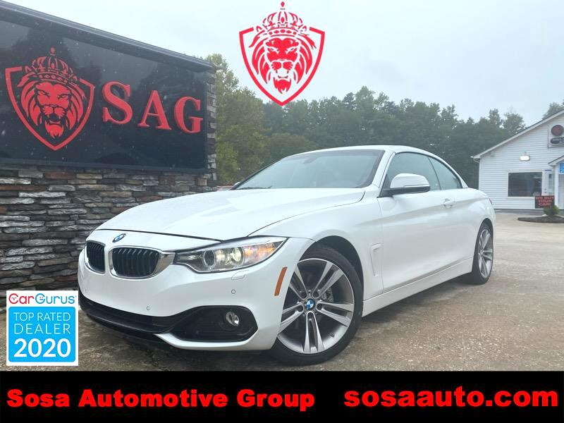 BMW 4-Series 428i SULEV Convertible 2016