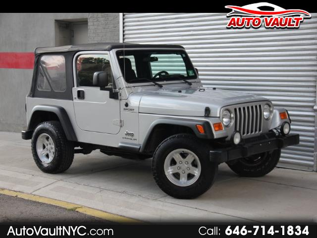 2004 Jeep Wrangler SPORT MANUAL RUST FREE LOW MILES 66K CALL TODAY!