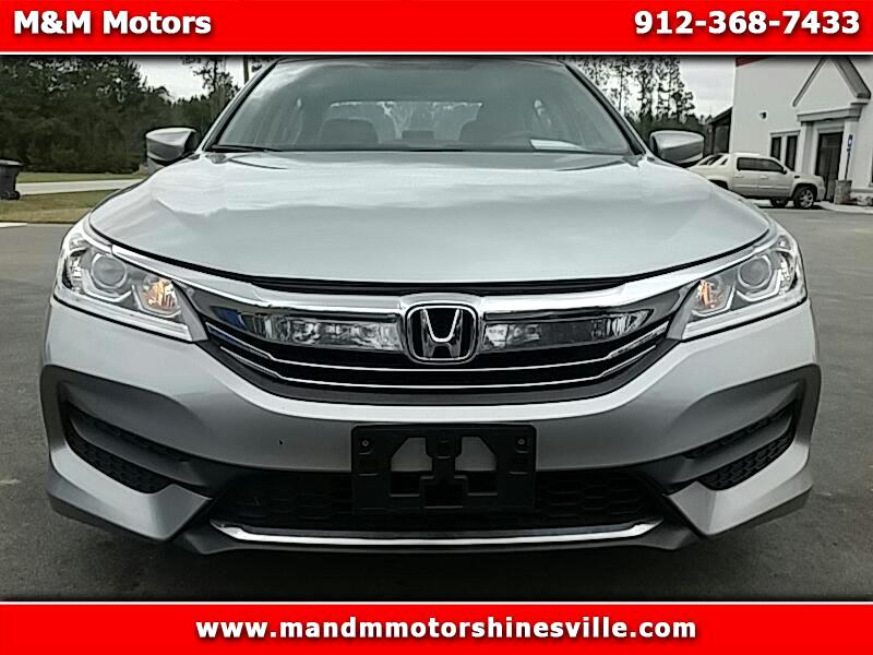 Honda Accord LX Sedan CVT 2016
