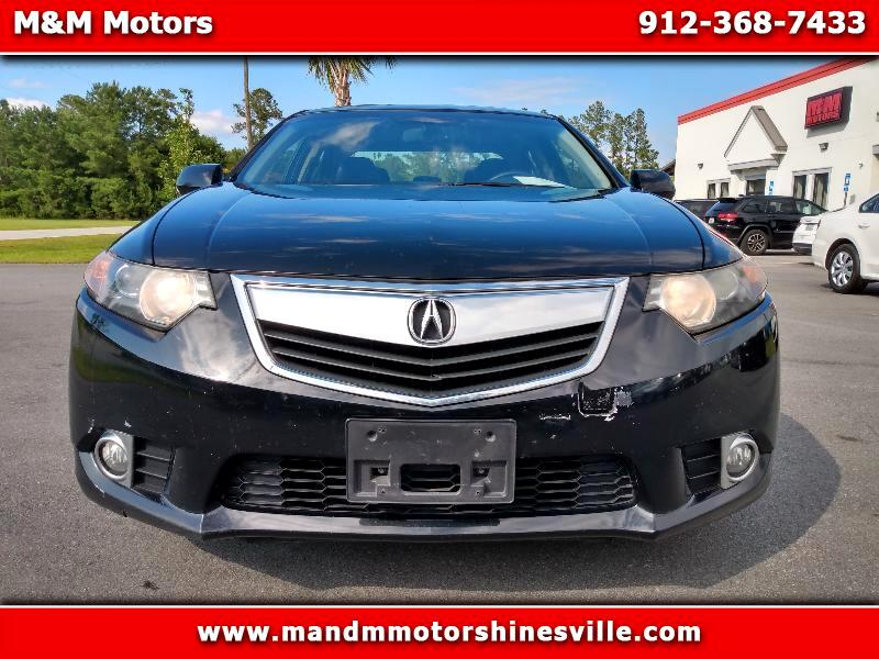 Acura TSX 5-Speed AT with Tech Package 2013