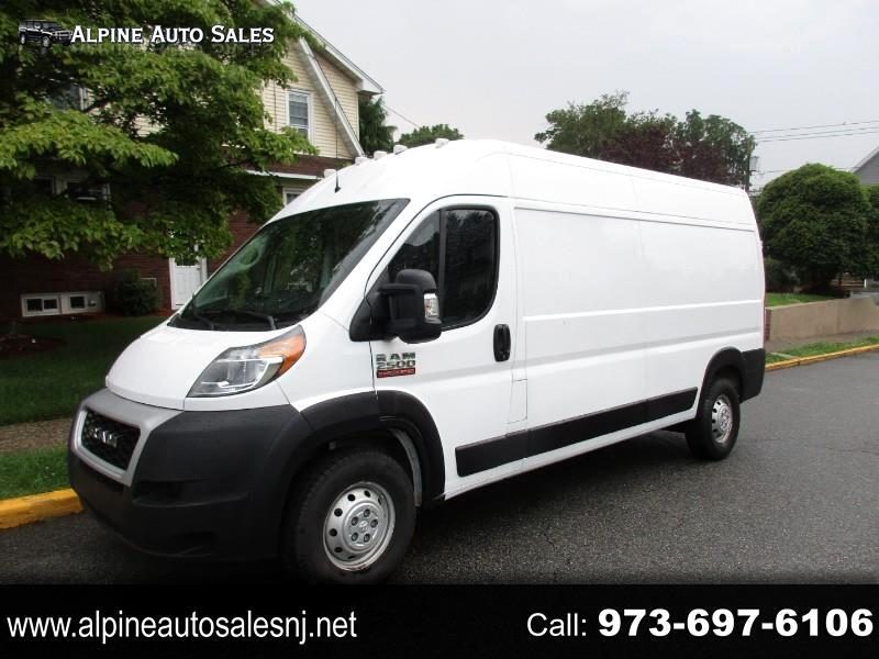 RAM Promaster 2500 High Roof 159-in. WB 2020