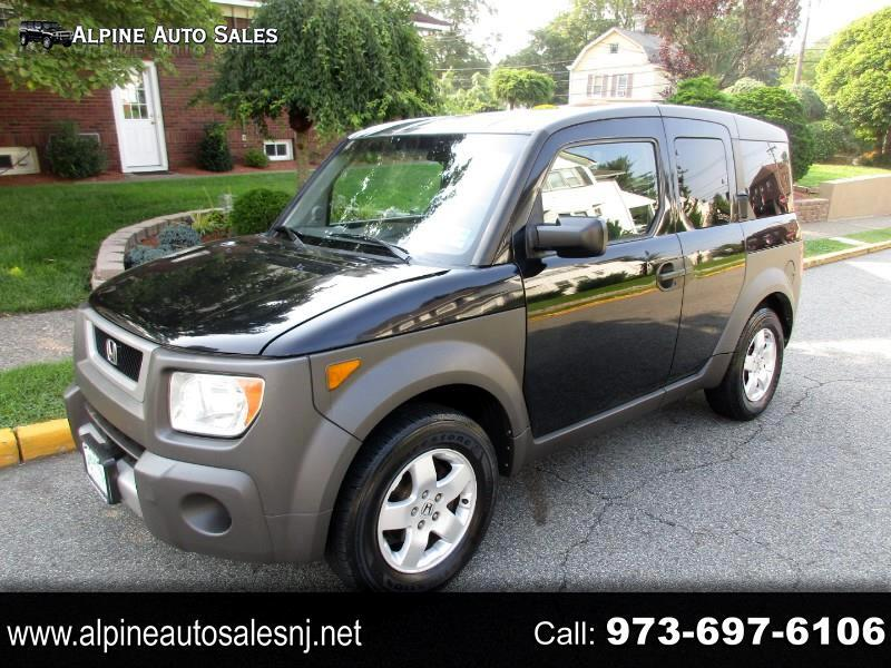 Honda Element EX 4WD AT w/ Front Side Airbags 2004