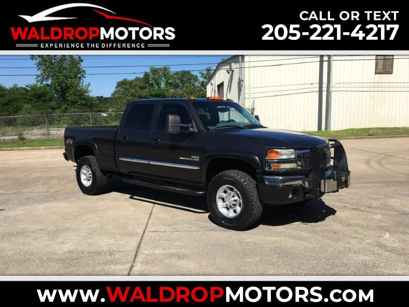 2005 GMC Sierra 2500HD SLT Crew Cab Long Bed 4WD