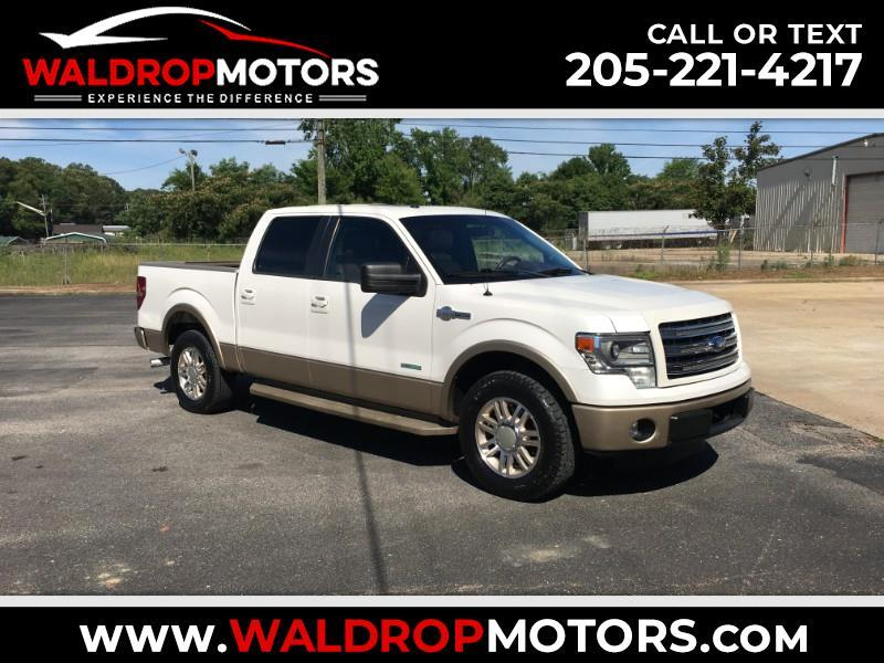 Ford F-150 King Ranch SuperCrew 6.5-ft. Bed 2WD 2013