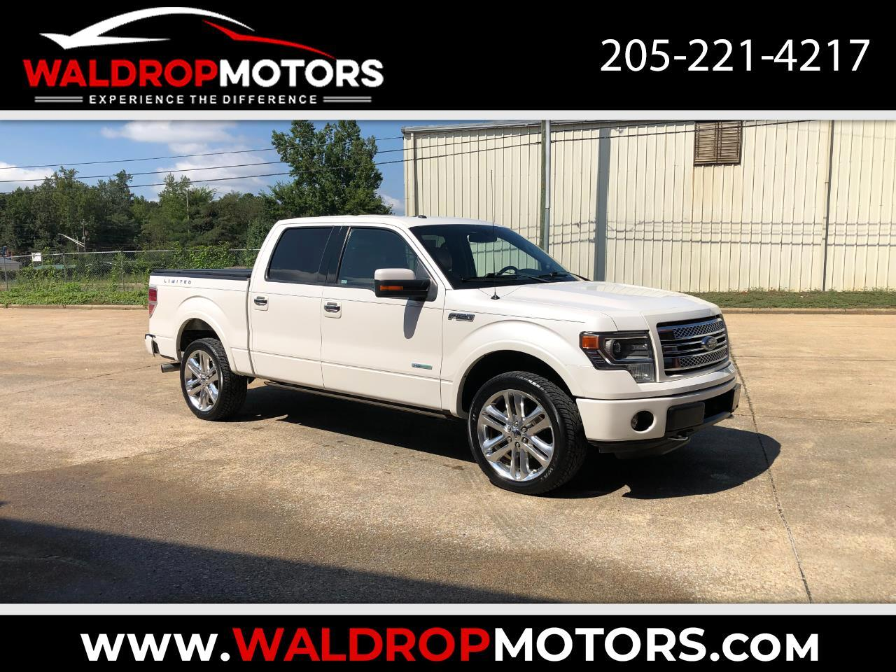 """Ford F-150 4WD SuperCrew 145"""" Limited 2013"""