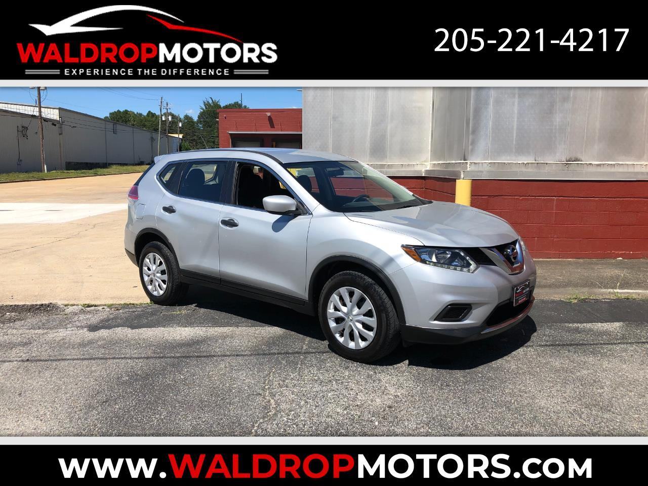 Nissan Rogue FWD 4dr S 2016