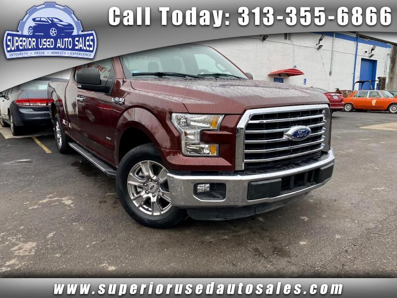 Ford F-150 XLT SuperCab 6.5-ft. 2WD 2016