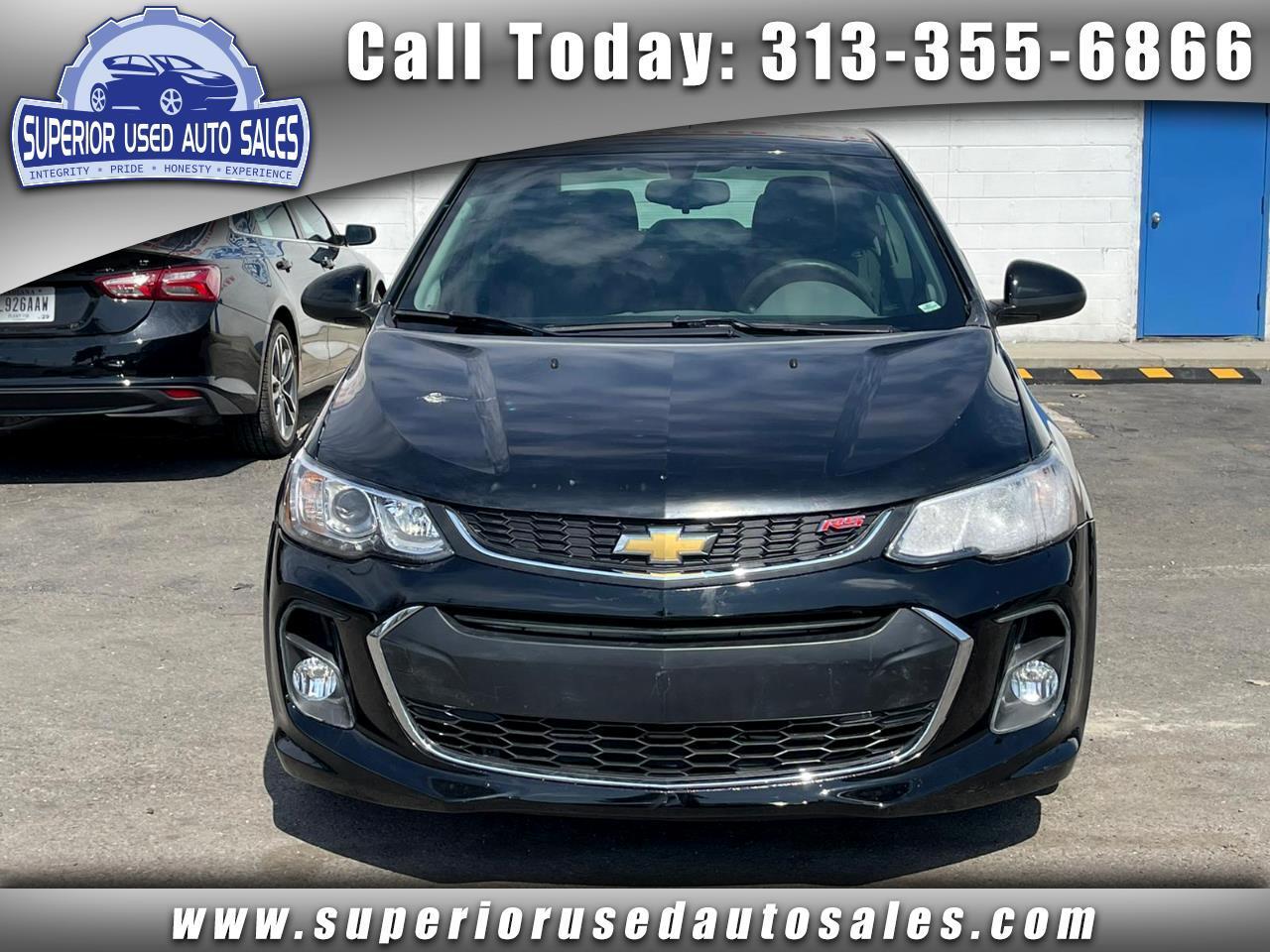 Chevrolet Sonic LS Manual Sedan 2017