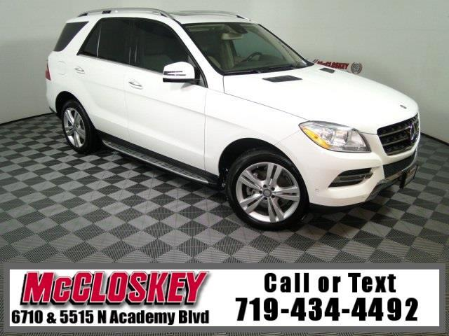 2014 Mercedes-Benz M-Class ML 350 BlueTEC®