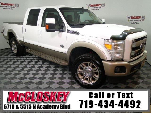 2011 Ford F-350 SD King Ranch 4x4