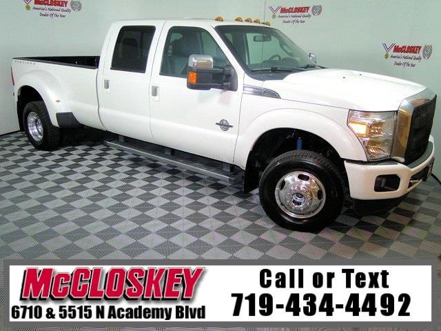 2015 Ford F-350 SD Platinum DRW