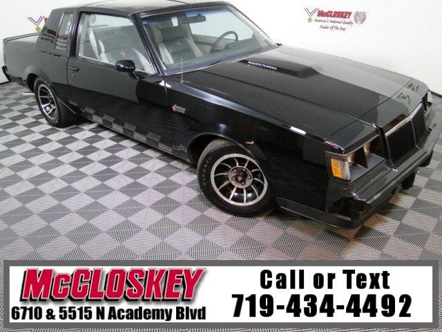 1984 Buick Regal T-Type Grand National