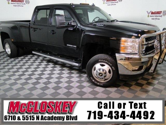 2014 Chevrolet Silverado 3500HD LTZ 4x4 with 4.10 Axle Ratio