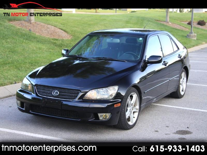 2002 Lexus IS 300 5-Speed Sedan