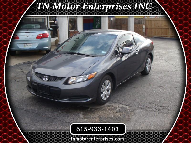 Honda Civic LX Coupe 5-Speed AT 2012