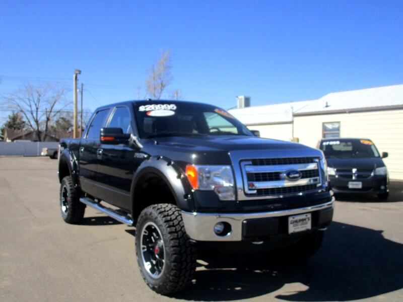 2014 Ford F-150 4x4 XLT 4dr SuperCrew Styleside 5.5 ft.