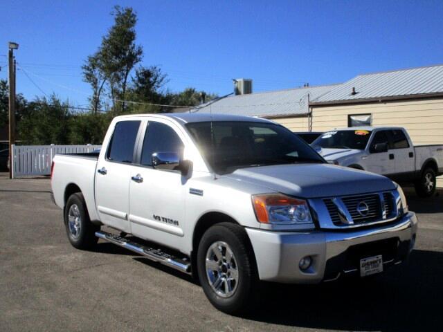2012 Nissan Titan S Crew Cab 2WD