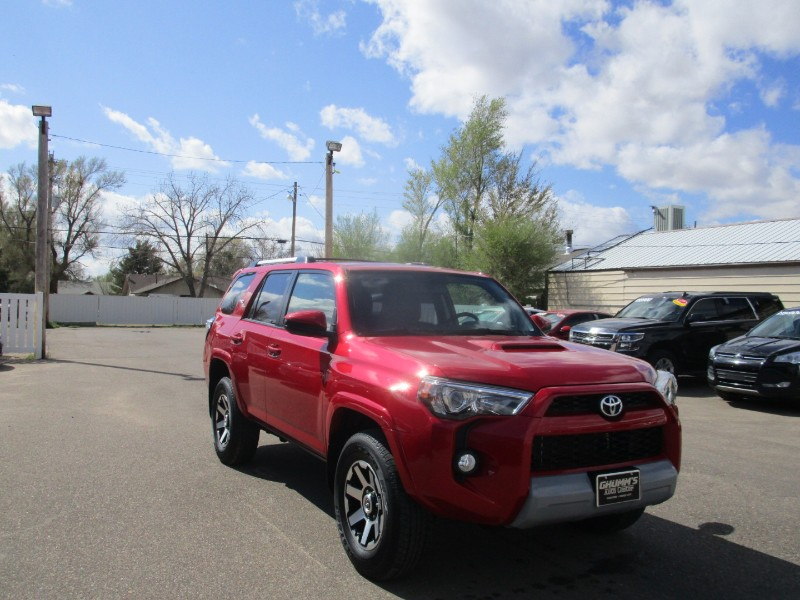 Toyota 4Runner TRD Off Road 4WD (Natl) 2017