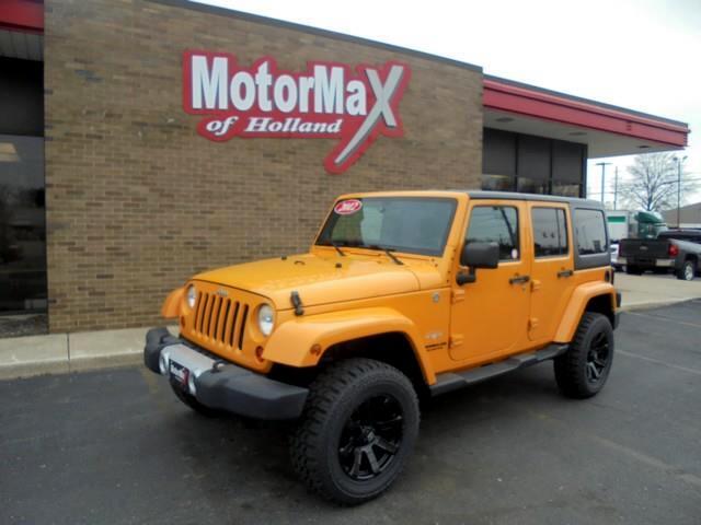 2012 Jeep Wrangler Unlimited Sahara 4WD